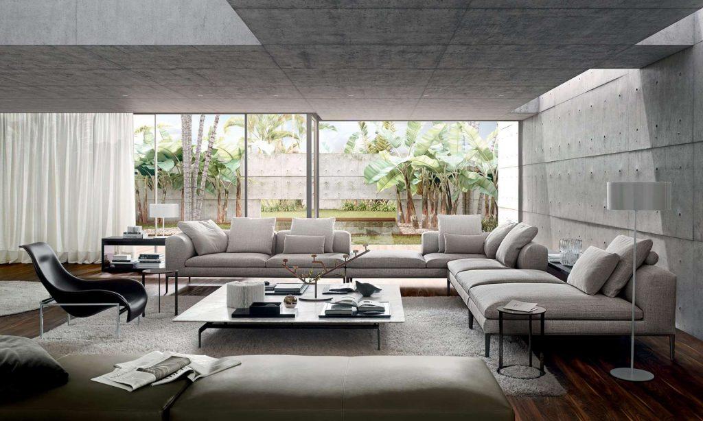 Michel | design: Antonio Citterio B&B Italia