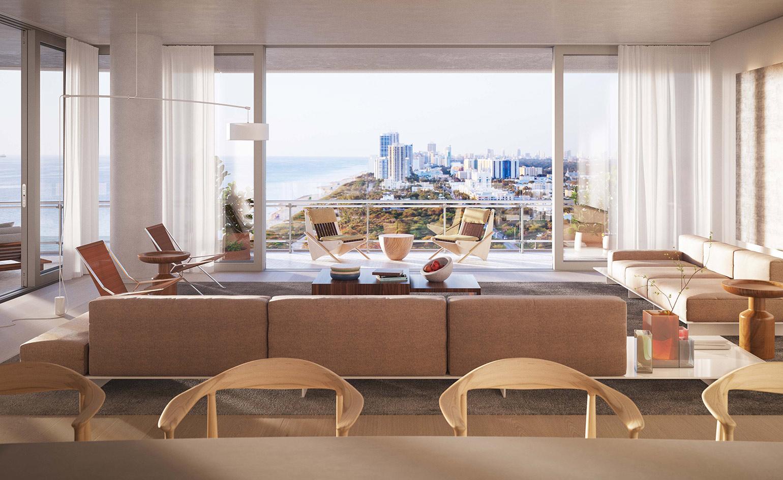 Apartamentowce projektu Renzo Piano, w Miami
