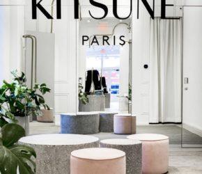 Maison Kitsunè projektu Mathieu Lehanneura