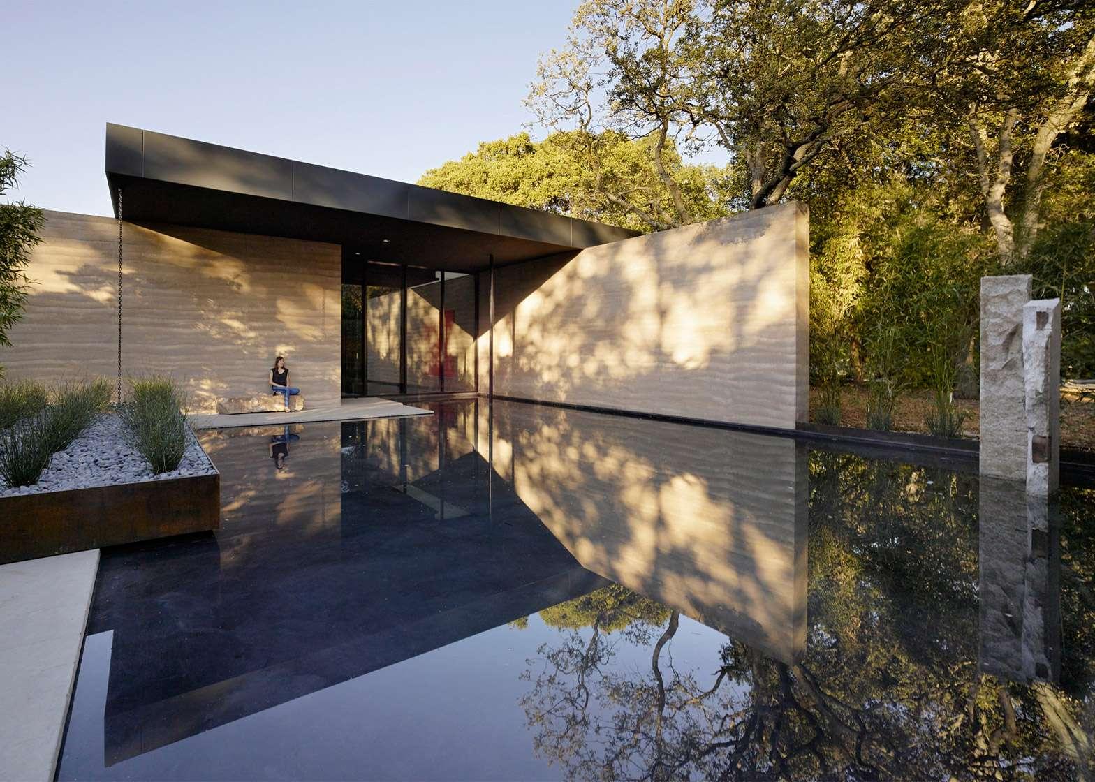 Centrum medytacji na Uniwersytecie Stanforda projektu Aidlin Darlin