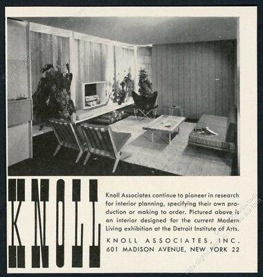 1949-Knoll-Associates-modern-furniture-photo-vintage-print