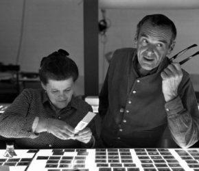 Ray i Charles Eames w studiu