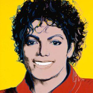 Michael Jackson, 1984, by Andy Warhol