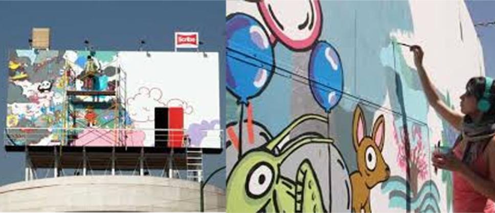 Billboardowy domek Julio Gomeza Trevilla