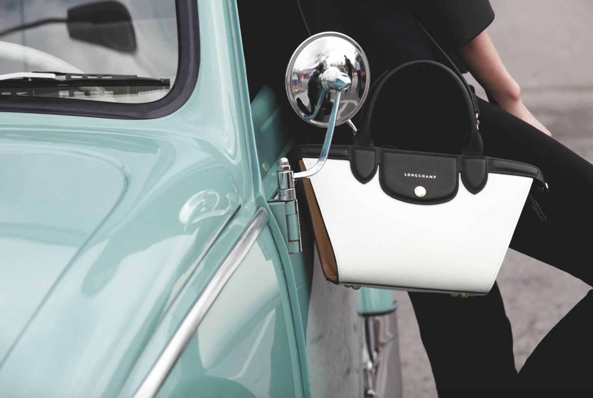 Kolorowy minimalizm Longchamp