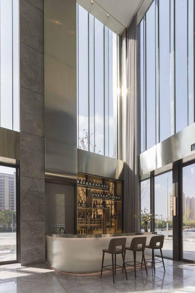 2_Huzhou_Lobby lounge Bar_Ground floor studio marco piva