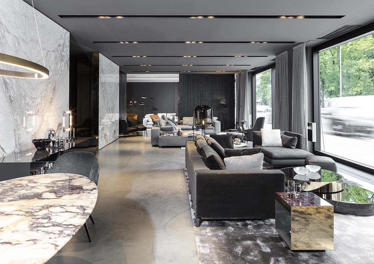 salon minotti projektu studia misotti point of designpoint of design premium live magazine. Black Bedroom Furniture Sets. Home Design Ideas