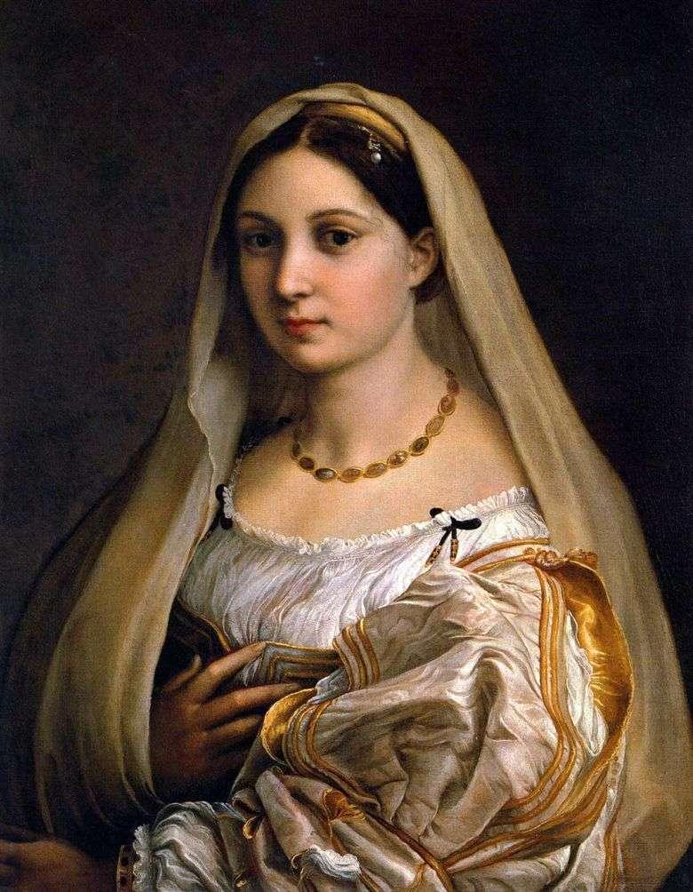 La Donna Velata, Rafael Santi