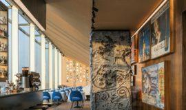 Restauracja Torre w Fondazione Prada w Mediolanie
