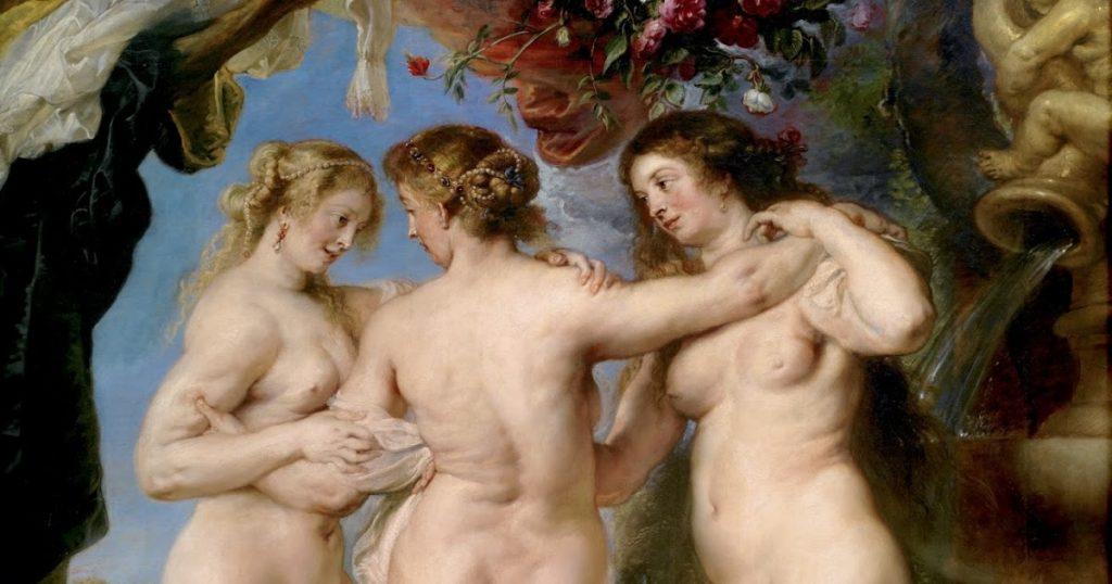Trzy gracje, Rubens