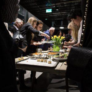 Event Point of Design - live cooking Adam Michalski, szef kuchni Miele
