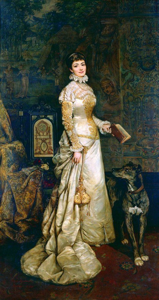 Portret Heleny Modrzewskiej, Tadeusz Ajdukiewicz