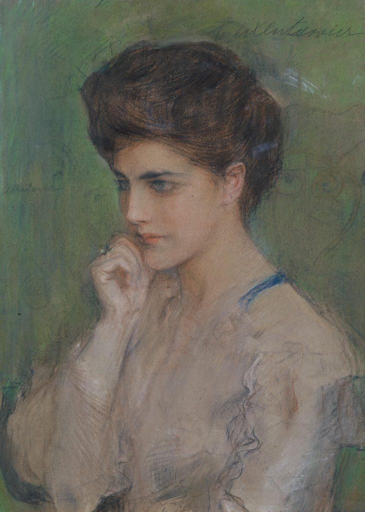Portret Kobiety, Teodor Axentowicz