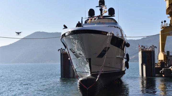 Jacht Sanlorenzo SX88- projekt wnętrza Piero Lissoni