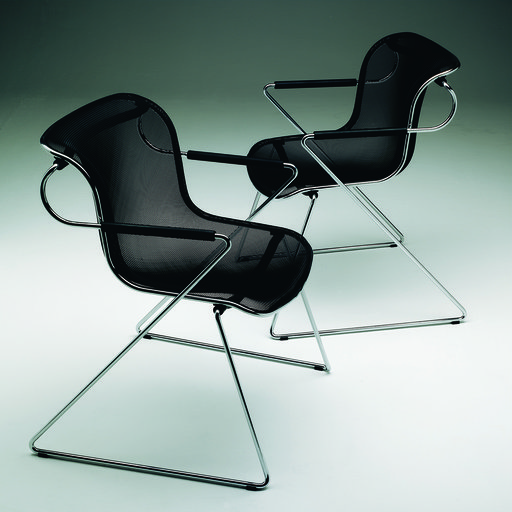 ANONIMA CASTELLI - SET OF 2 PENELOPE CHAIRS BY CHARLES POLLOCK rewolucyjne ikony designu