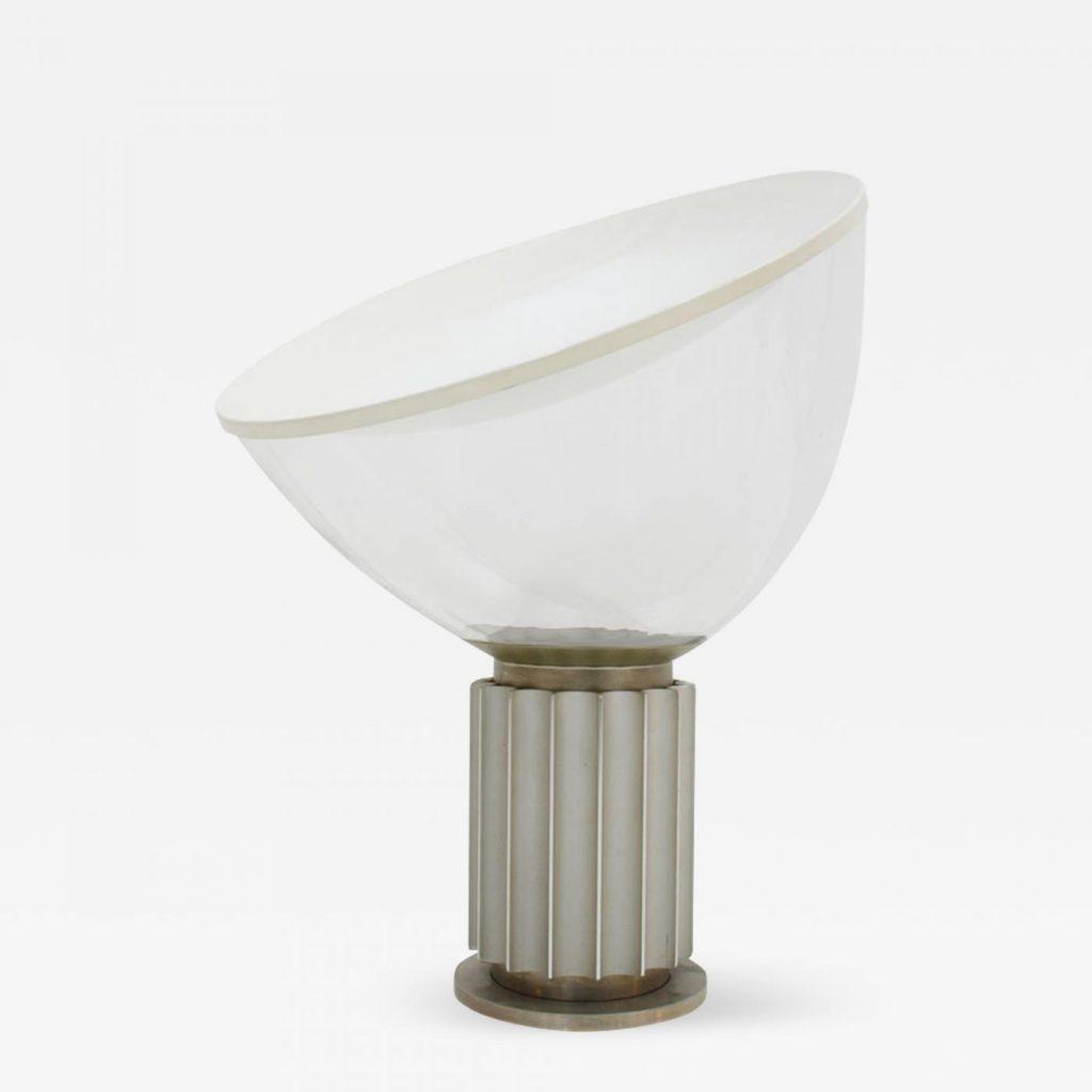 Lampa Taccia marki Flos, projekt Achille Castiglioni