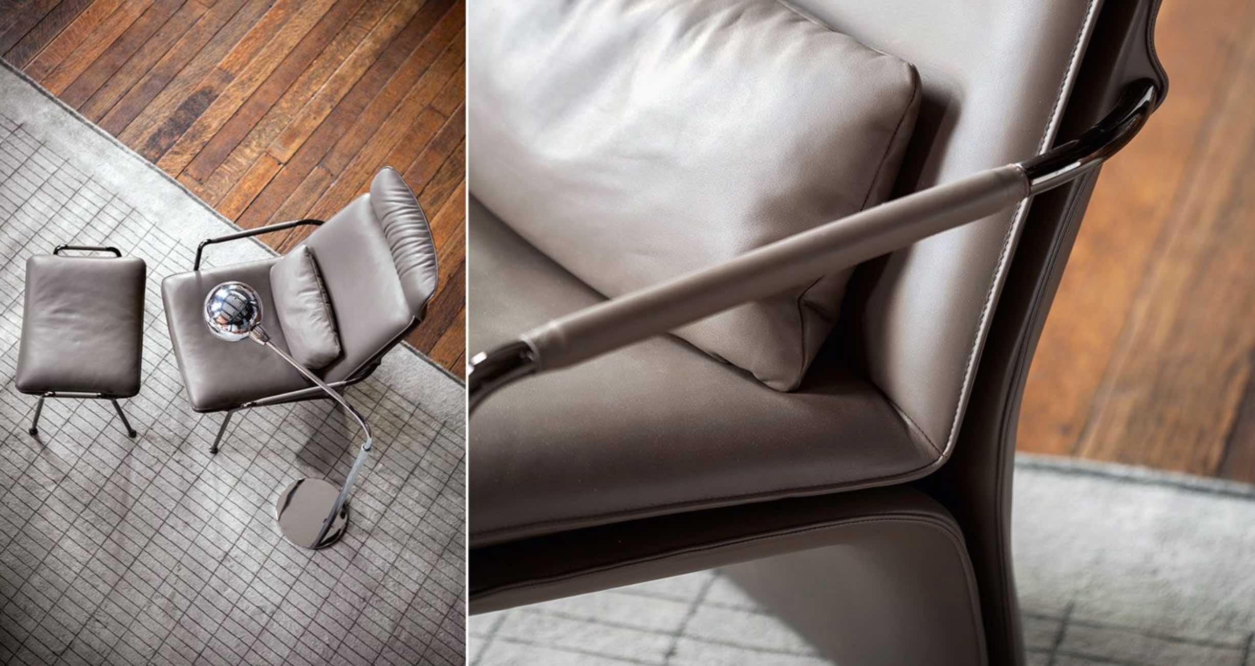 Arabesque | design- Kensaku Oshiro | Poltrona Frau
