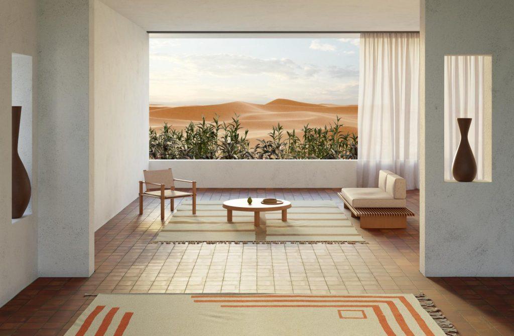 Beni Rugs living room 01