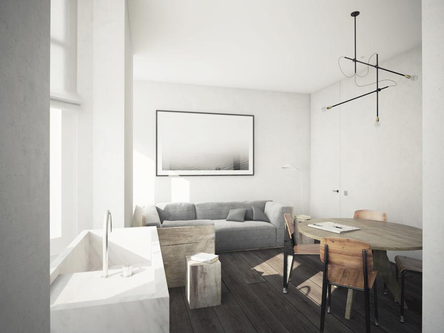 DT Apartement - projekt Nicolas Schuybroek