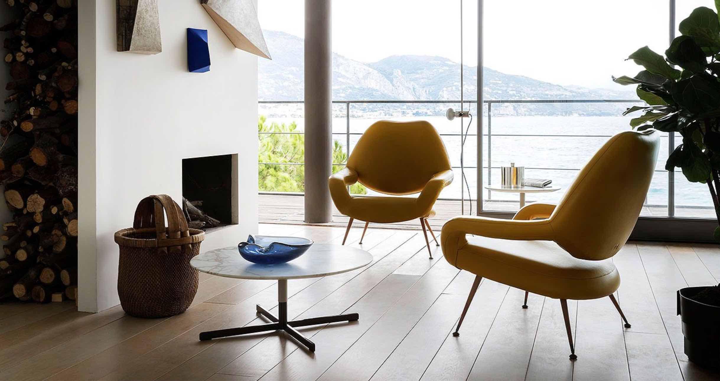 DU 55 | design- Gastone Rinaldi | Poltrona Frau