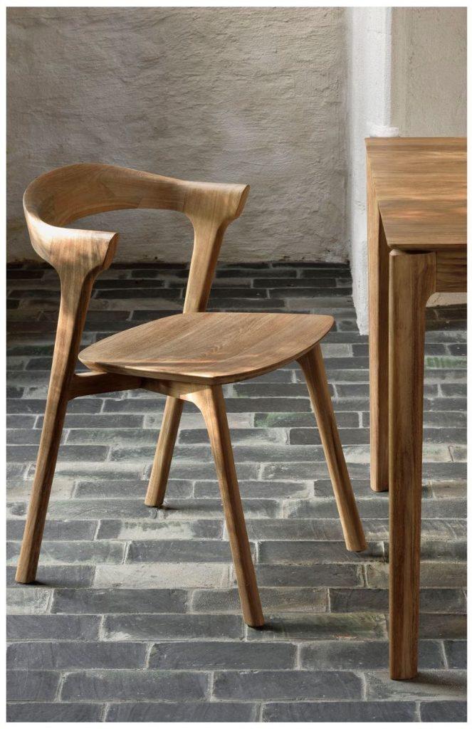 ETHNICRAFT Bok Dining Chair Designer - Alain van Havre