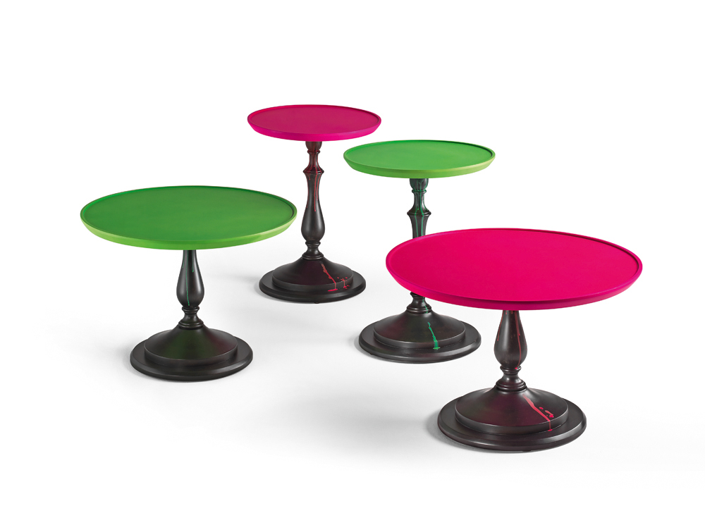 F* lampe table F* coctail table boffi okrągłe stoliki