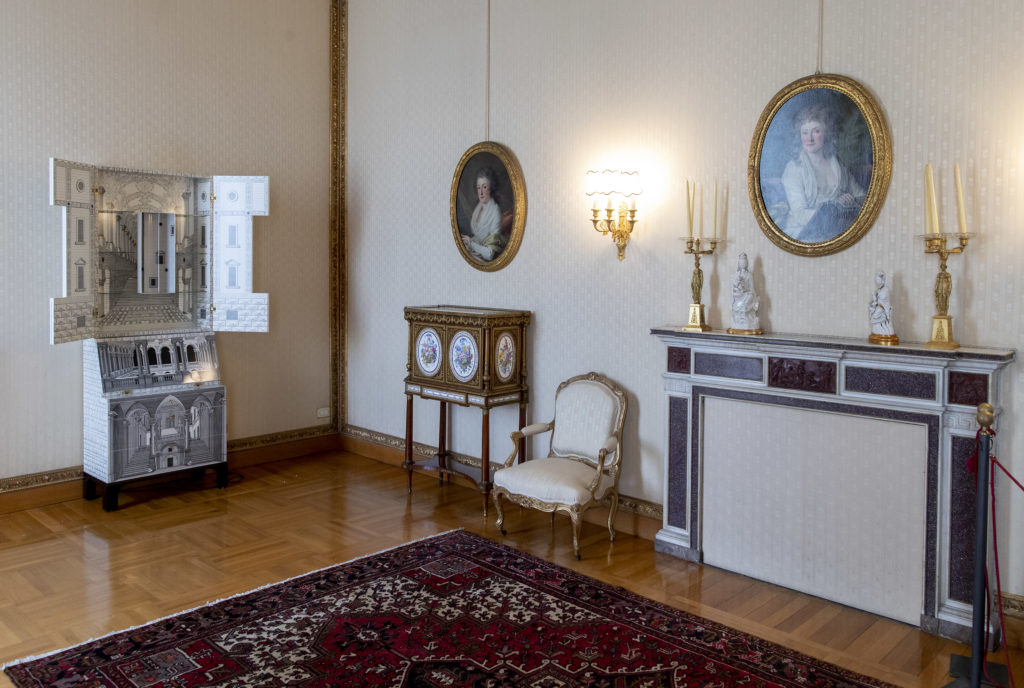 cultore meble Fornasetti trumeau Architettura, Sala della Vittoria_ph courtesy Quirinale