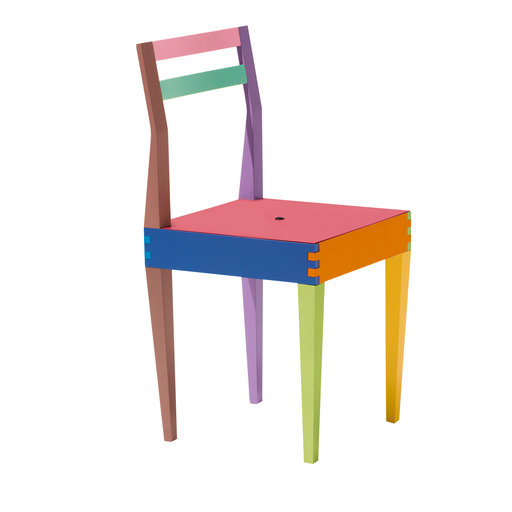 GIORGETTI - DRY MULTICOLORED CHAIR BY MASSIMO MOROZZI rewolucyjne ikony designu