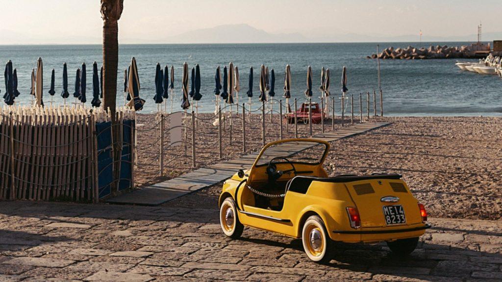 samochód elektryczny Fiat500