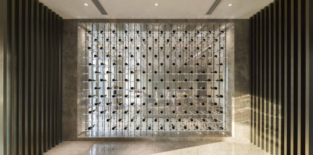 Huzhou_Executive Lounge-Wine cellar (2) studio marco piva