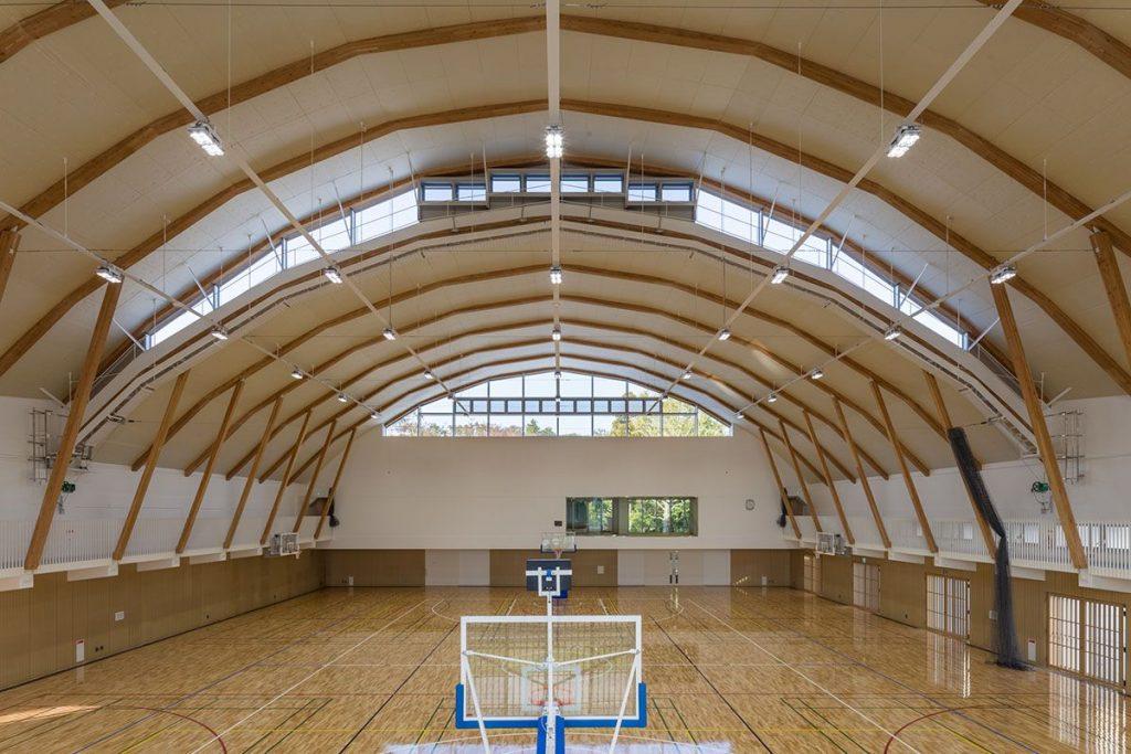 ICU New Physical Education Center | Kengo Kuma 01 Kawasumi・Kobayashi Kenji Photograph Office and Yoshitomi Photograph Office