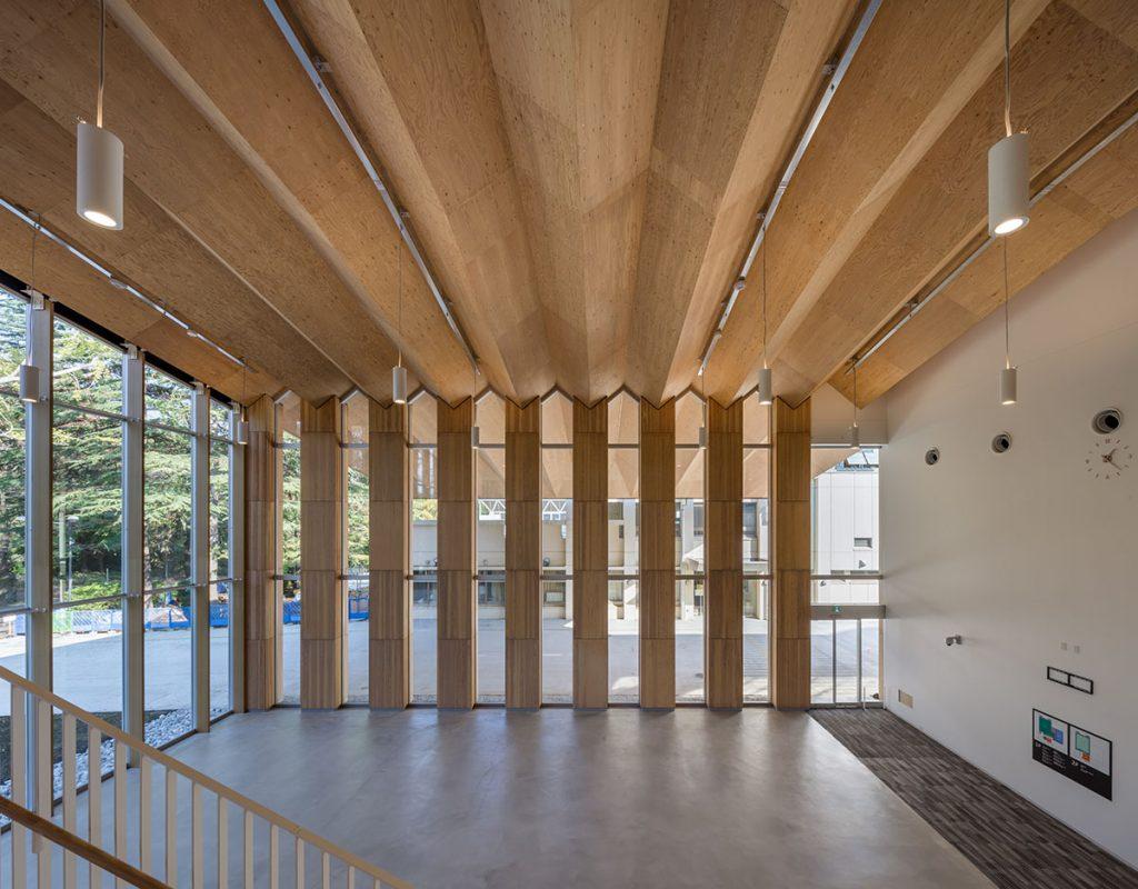 ICU New Physical Education Center | Kengo Kuma 02
