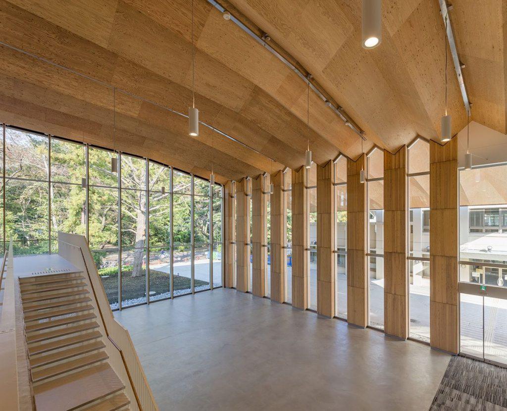 ICU New Physical Education Center | Kengo Kuma 03