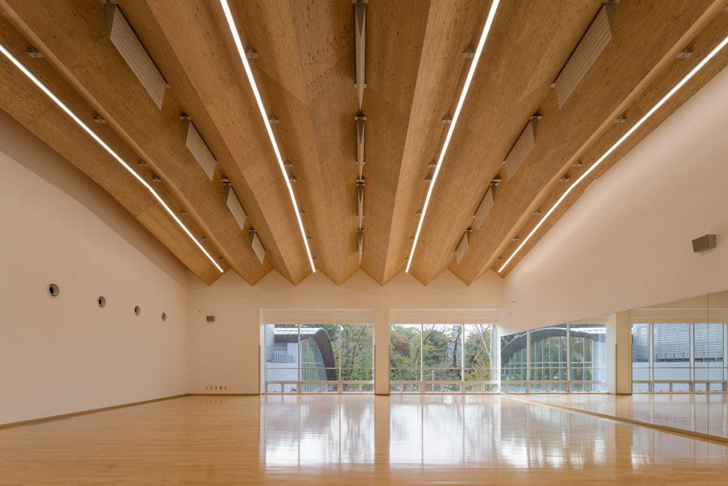 ICU New Physical Education Center | Kengo Kuma 04