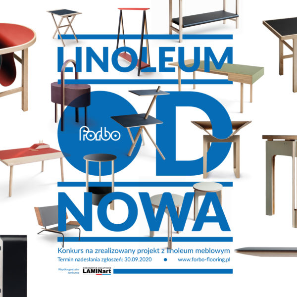 Forbo Flooring Polska – producent linoleum meblowego, ogłasza pierwszy w Polsce konkurs na najlepszą realizację z użyciem Linoleum Meblowego firmy Forbo.