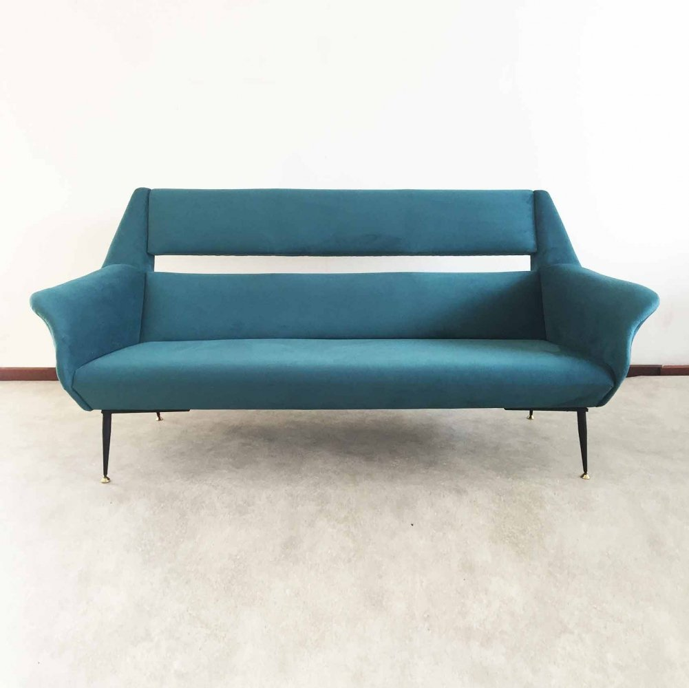 Italian 'Ile sofa by Gigi Radice for Minotti, 1954 vintage.com nowoczesne kanapy