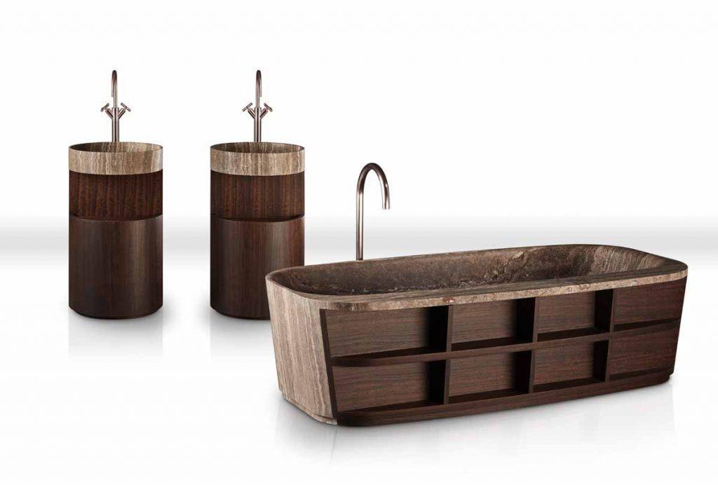 kolekcja łazienkowa Kreoo_HUG_tub and sink_design Matteo Nunziati (1)