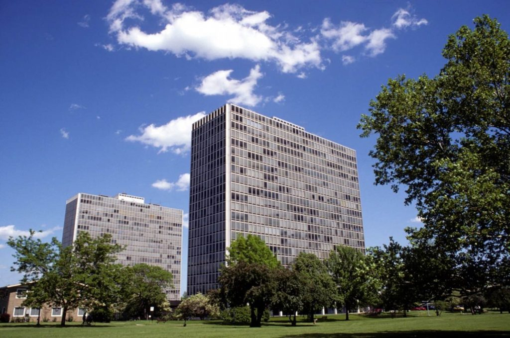 Lafayette Park, Detroit, 1956