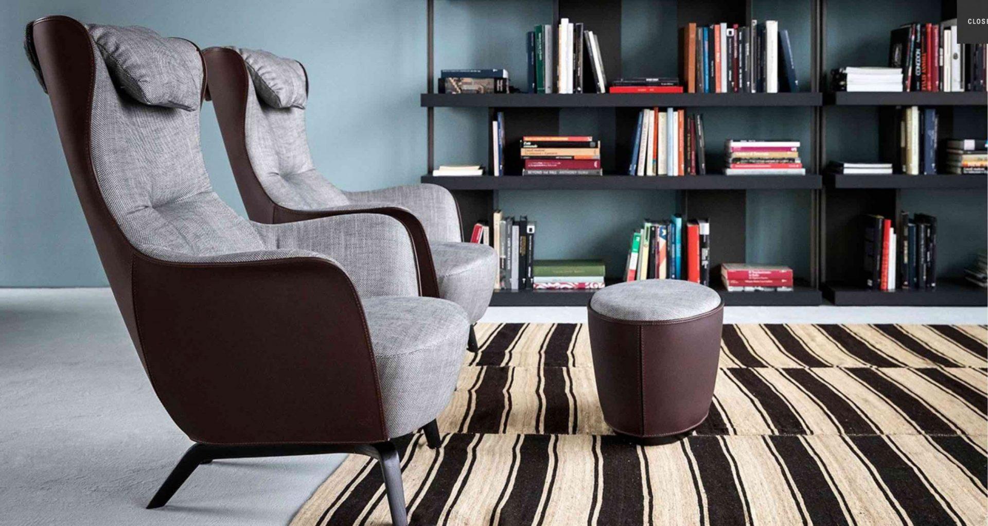 Mamy Blue | design- Roberto Lazzeroni | Poltrona Frau
