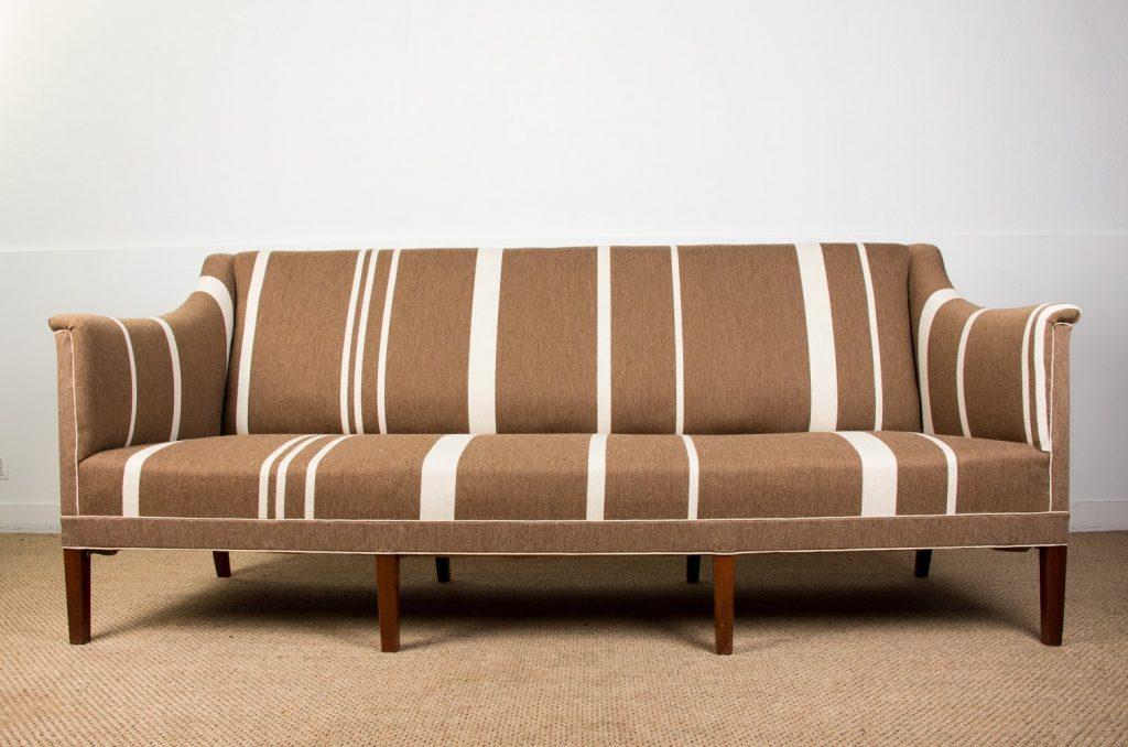 Model 6092 Danish Sofa by Kaare Klint, 1950s vintage.com nowoczesne kanapy