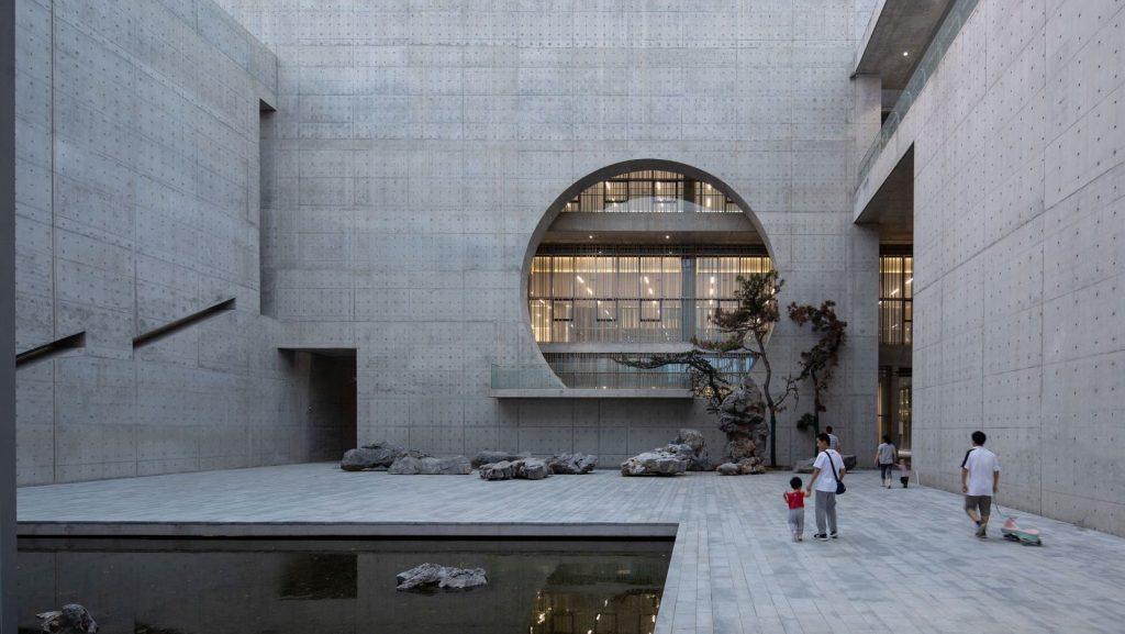 Monumentalizm Shou County Culture and Art Center 01
