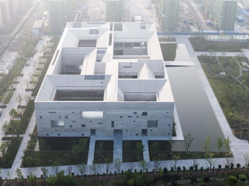 Monumentalizm Shou County Culture and Art Center 02