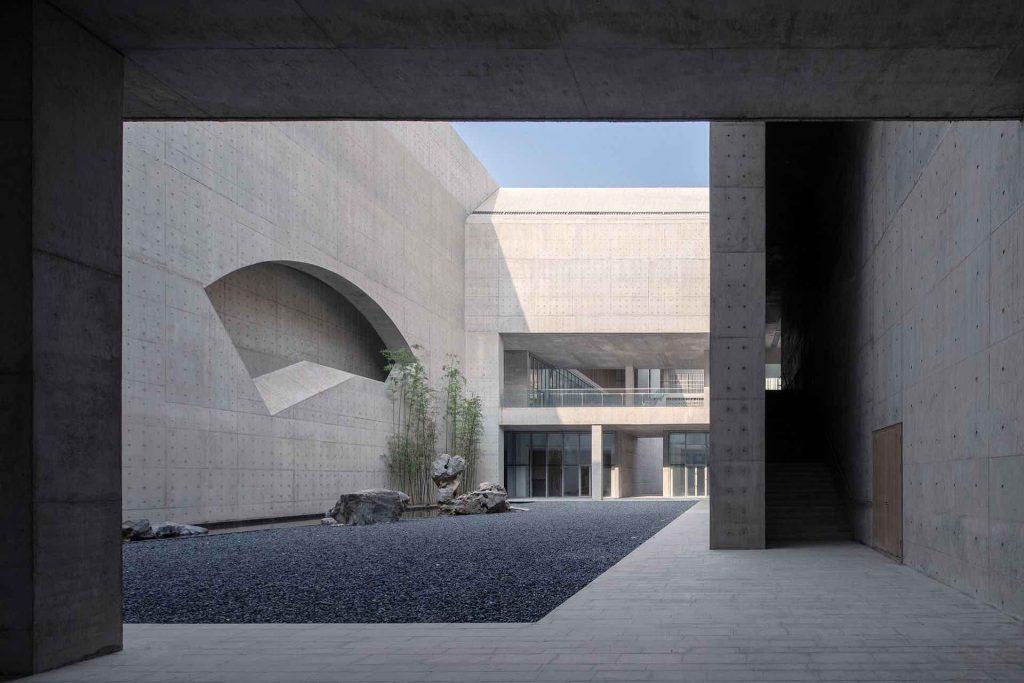 Monumentalizm Shou County Culture and Art Center 08