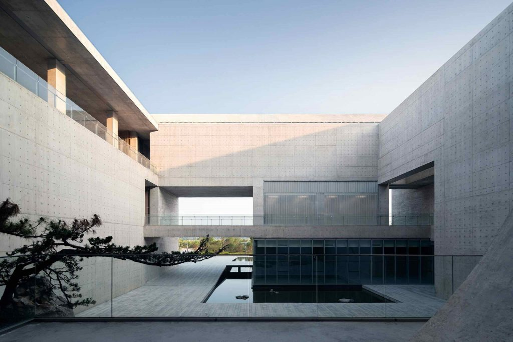 Monumentalizm _shou_county_culture_center_studio_zhupei 02
