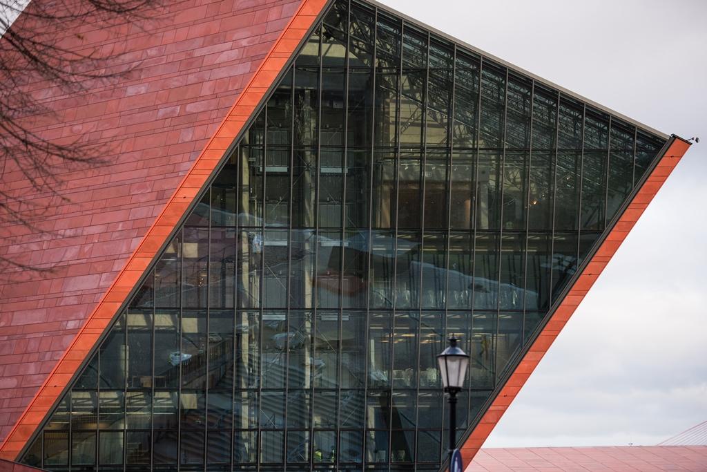Muzeum II Wojny Światowej w Gdańsku. Fot. Roman Jocher