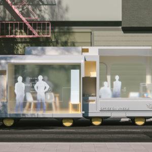 IKEA Space on wheels - autonomiczne pojazdy w mieście