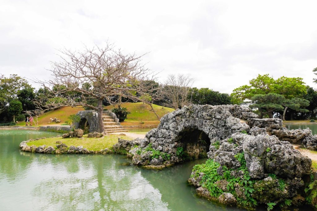 Ogród Shikinaen na Okinawie