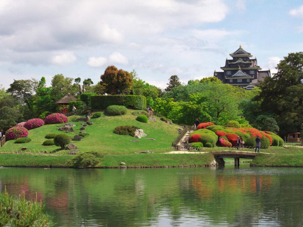 Ogród Koraku-en i zamek Okayama