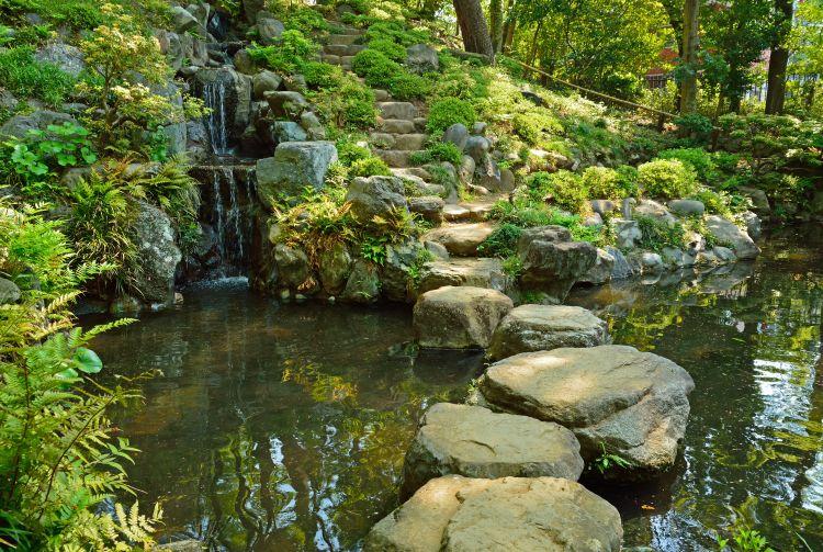 Ogród japoński Tonogayato w Tokyo