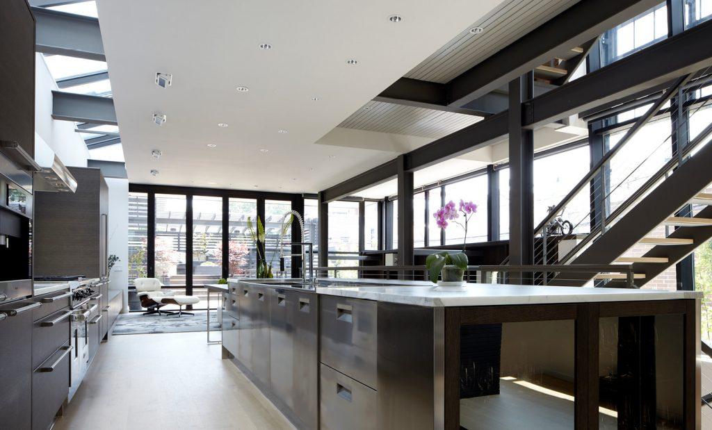 Osterhaus McCarthy, Chicago kitchen Arclinea